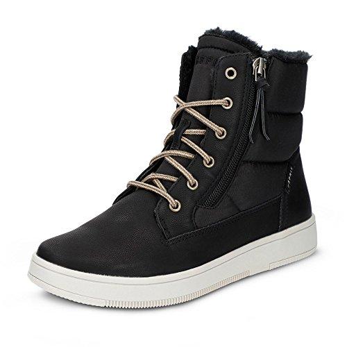 ESPRIT 088EK1W002-001 Desire Damen Boots Textilinnensohle Textiles Warmfutter, Groesse 39, schwarz