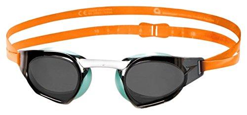 Speedo Fastskin Prime Gafas de natación, Unisex Adulto, Naranja/Menta/Humo, One Size