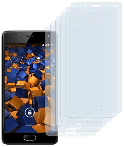 mumbi Schutzfolie kompatibel mit Wiko U Feel Folie klar, Bildschirmschutzfolie (6X)