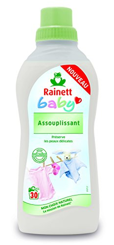 RAINETT Adoucissant du Linge Bébé 750 ml - Pack de 8