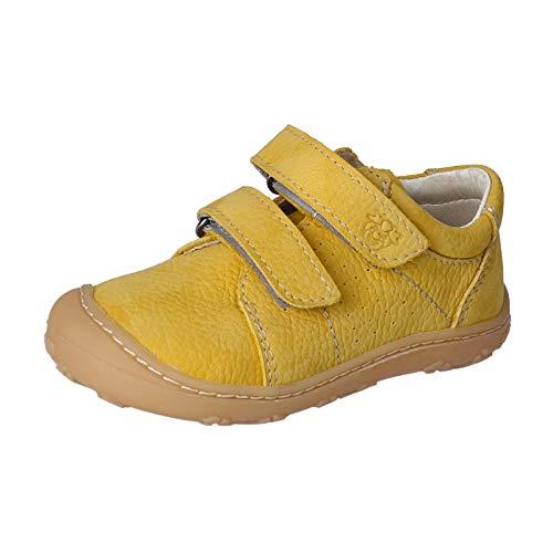 RICOSTA Unisex - Kinder Sneaker Tony von Pepino, Weite: Mittel (WMS),lose Einlage,Kinderschuhe,Halbschuhe,senf (763),25 EU / 8 Child UK