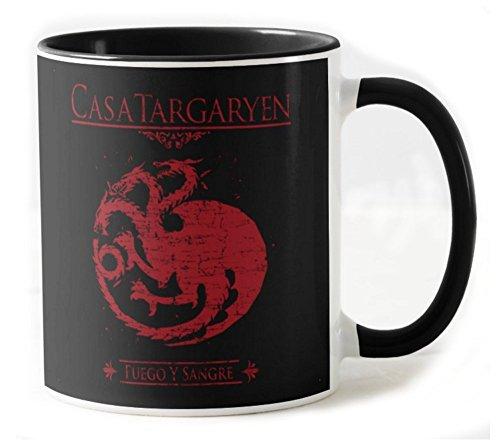 212-Taza de Ceramica Juego De Tronos - Casa Targaryen