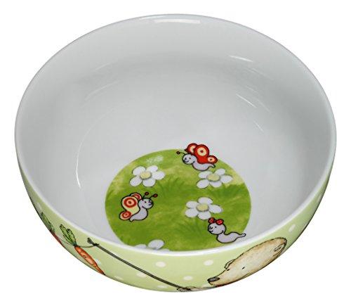 WMF Pitzelpatz Kindergeschirr Kinder-Müslischale, Ø 13,8 cm, Porzellan, spülmaschinengeeignet, farb- und lebensmittelecht