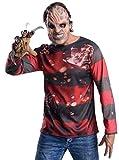Rubies 's Oficial de Freddy Krueger para Disfraz (Talla única)–Pesadilla en ELM Street para Adultos (Talla única)