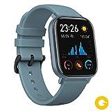 Amazfit GTS Reloj Smartwacht Deportivo | 14 días Batería | GPS+Glonass | Sensor Seguimiento Biológico BioTracker PPG | Frecuencia Cardíaca | Natación | Bluetooth 5.0 (iOS & Android) Azul