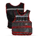 XN8 Verstellbar Gewichtsweste 10kg,15kg,20kg Fitnessweste- Trainingsweste für Krafttraining-...