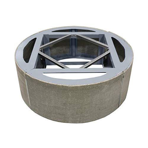 Amazing Deal Firegear Assemble and Finish Round Fire Pit Enclosure (ANF-R60-FPB-33RBSTFS-N), 60-inch...