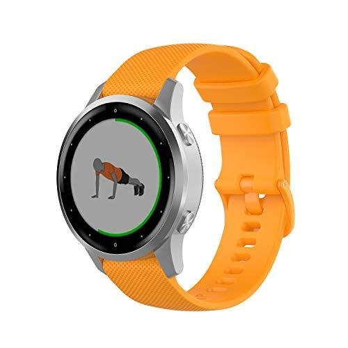 Correa de reloj de liberación rápida Pinhen, 18 mm, 20 mm, 22 mm, correa de silicona de repuesto para mujeres y hombres 22mm