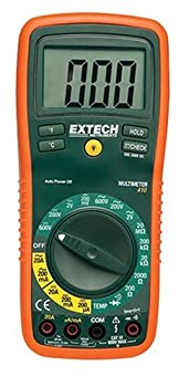Extech EX410A Professional True RMS Multimeter with 8 Functions