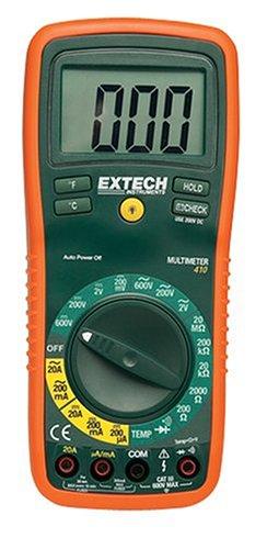 Extech Professionelles 8-Funktionen-Multimeter, 1 Stück, EX410