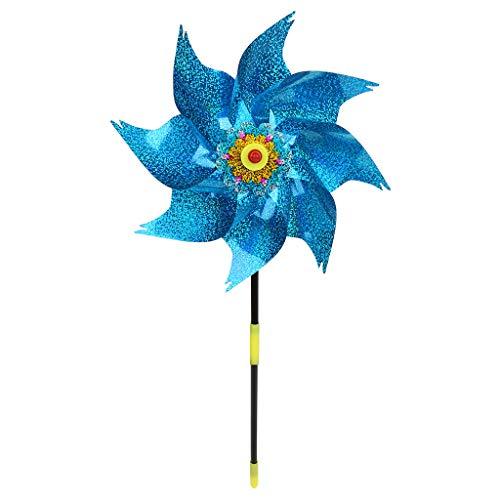 Tinaa Windmills for Children Giant Windmill Garden Windmill for Garden Decoration,Random Color