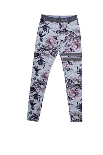 EIVY Damen Icecold Tight Baselayer warme Ski-Thermo Funktionsunterwäsche Legging Funktionshose, Bloom, S