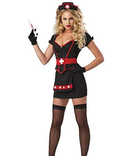 Boowhol-Sexy Versuchung Uniform Sexy Krankenschwester Spiel Kostüm Spaß Anzug Uniform