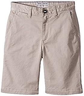 ビラボン Billabong Kids キッズ 男の子 ショーツ 半ズボン Light Khaki Carter Stretch Walk Shorts [並行輸入品]