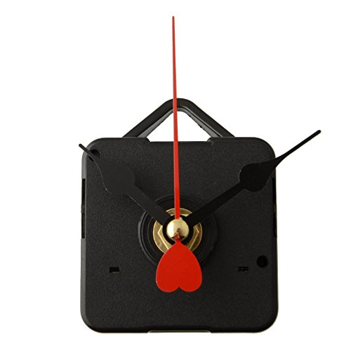 High Quality Quartz Clock Movement Mechanism Long Spindle Red Hands Repair DI…
