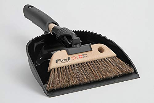 Nessentials Swiss UX Dustpan and Brush Set Horse Hair
