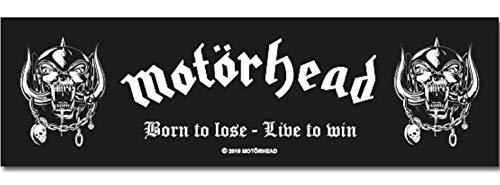 """Motörhead Teppiche Lalee - Felpudo, diseño con texto """"Born to Love Live to Win"""""""
