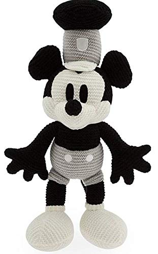 Disney Parks Mickey Mouse Knit Plush – Steamboat Willie – 15''