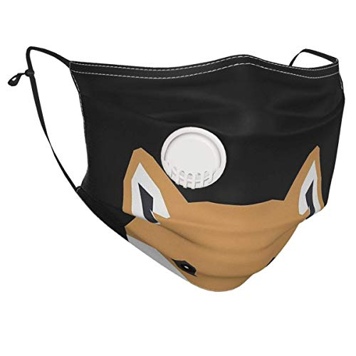 Unisex Mouth Guard Indiana - Shiba Inu Gift Design For Dog Lovers And Dog People Women Men Mouth Shield Universal Mouth Protector Breathable Facial Shield Outdoor Facial Decorations