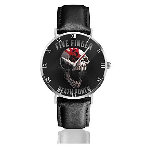 Five Finger Death-Pun-ch Teens Niños Estudiantes Relojes de Regalo Reloj de Moda Ultrafino