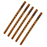 5 Pcs Flute Bambu Xiao Bamboo Verticale Cinese Articoli Per Regalo Bambini Adulti