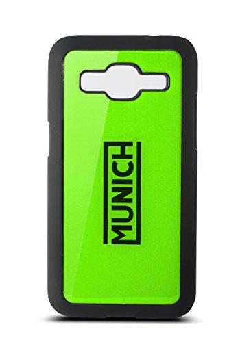 Munich Fluor Line-Cover per Samsung galaxy Core Prime, colore: verde