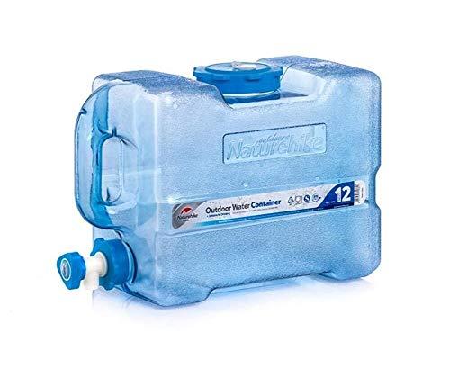 ZSYGFS Bidón De Agua Contenedor De Agua Portátil Bidón De Agua con Grifo Depósito De Agua Tanque De Almacenamiento De Agua Portátil Acampar Viajes En Auto