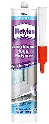 Metylan 2050451 Wand & Decke Anschlußfuge Polymer weiß 300 ml