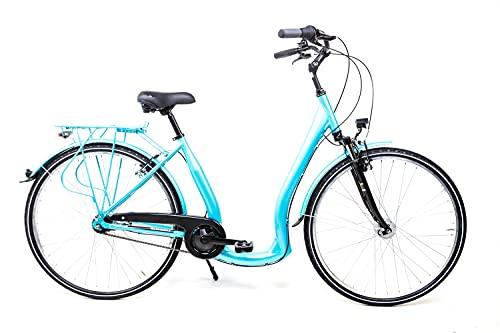 28 Zoll Alu Fahrrad City Bike bequemer...