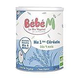 La Mandorle – Mi Premiere Cereale Bio de 4 meses Bebe M 400 g La Mandorle