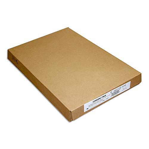 Paterson Paper 16' x 24' Full Size Unbleached Chromium-Free Reusable Baking Parchment Paper Sheets Commercial Bun/Sheet Pan Liners - 1000/Case - 425F - Non-Stick/Grease-Resistant