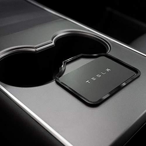 BASENOR for Tesla Model 3 Mittelkonsolen Tasten Halterung Verhindert das Verrutschen von Karten Model 3 Zubehör Passend für 2016 2017 2018 2019 2020 2021 Model 3