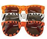 Gafas de sol para niños con estampado de animales, 24 unidades, colores surtidos, para niños, niños y niñas, recuerdos de fiesta, relleno de piñata, bolsas de regalo para niños, premios de carnaval