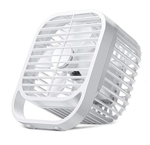 YZ-YUAN Desktop Fan USB Fan Cooling Fan Adjustable Portable Mini Fan Quiet Table Fan For Home, Office, School, Dormitory, Outdoor Camping