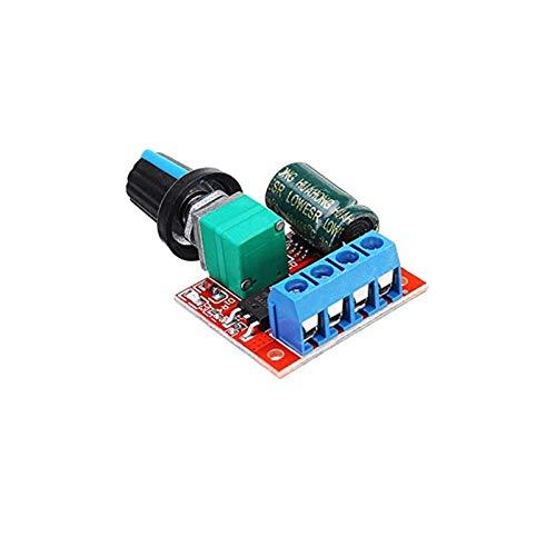 BENINGNT Módulo de Control de Velocidad, Módulo de Controlador de Velocidad del Motor de 1 UNPCS 5A 90W PWM 12V, DC-DC 4.5V-35V Regulador de Velocidad Ajustable Control de Control de gobernador 24V