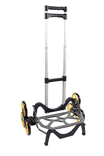 アップカート3輪キャリーカート段差・階段・カーブ・斜面・でこぼこ道にも対応最大積載量45kg高さ調整可折り畳み可アウトドア・レジャーにも便利