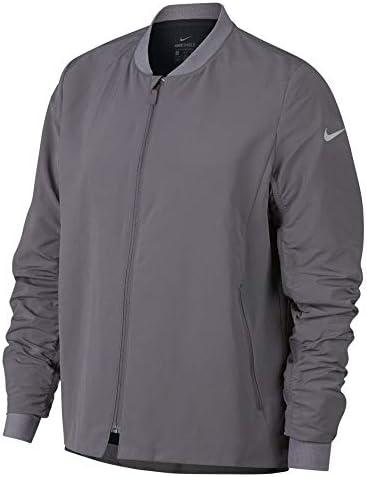 Nike Women s Shield Bomber Jacket Gunsmoke Black 930153 036 M product image