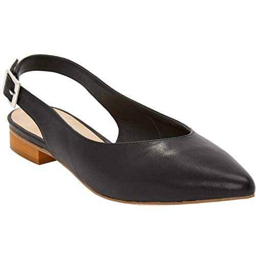 Wide Width Slingback Flats Shoes