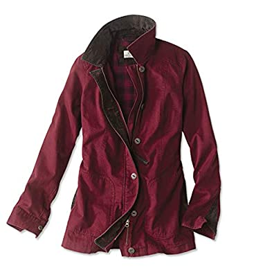 Orvis Women's Classic Barn Jacket, Garnet, Large