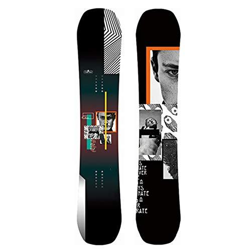 Dybory Standard Snowboard Herren Snowboard, Snowboard Deck Für Erwachsene, Profi Ski Board Single Board Deck, Universal Winter,C,160cm