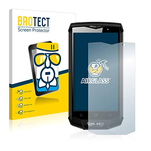 BROTECT Panzerglas Schutzfolie kompatibel mit Blackview BV8000 Pro - AirGlass, extrem Kratzfest, Anti-Fingerprint, Ultra-transparent