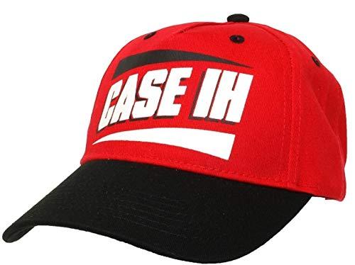 Casquette CASE IH Noire et Rouge - CAS290382