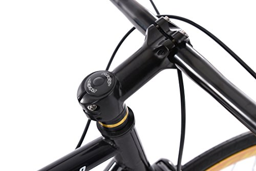 """KS Cycling Fixie Fitnessbike 28"""" Pegado schwarz-Gold RH 53 cm - 4"""