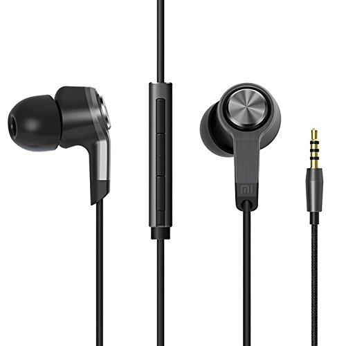 Xiaomi Piston III Headset Earphones with Remote and Mic - Black