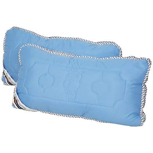 Stoffhanse Kissen 40 x 80 cm, 2-teilig blau | Bettwaren | Kopf-Kissen | nach Öko-Tex Standard