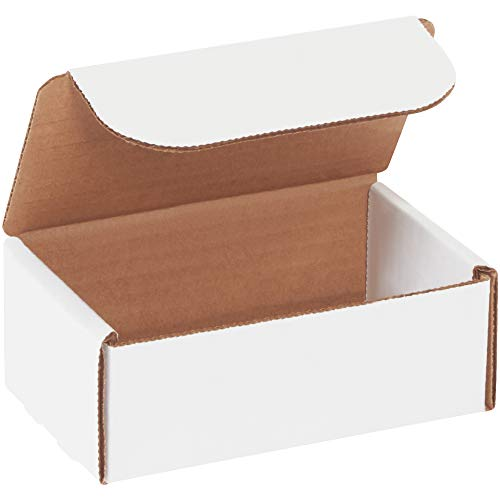 Box bml532Literatur Versandtaschen, 12,7x 7,6x 5,1cm Oyster Weiß (50Stück)