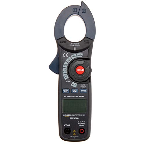 AmazonCommercial 400A AC Clamp Meter. 4000 Count