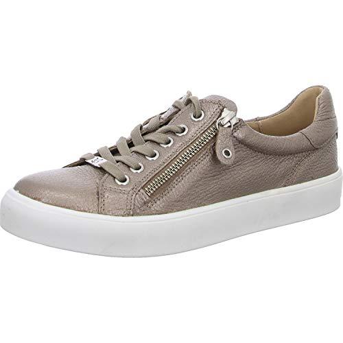 CAPRICE Damen INOU Sneaker, Silber (Titan Deer Per 936), 38 EU