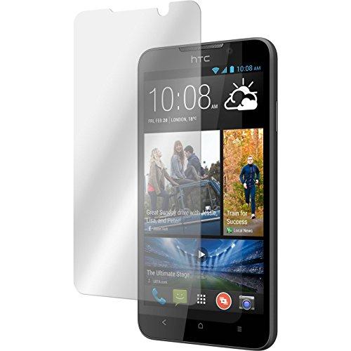 PhoneNatic 2 x Película Protectora de Vidrio Templado Claro Compatible con HTC Desire 516 Películas Protectoras