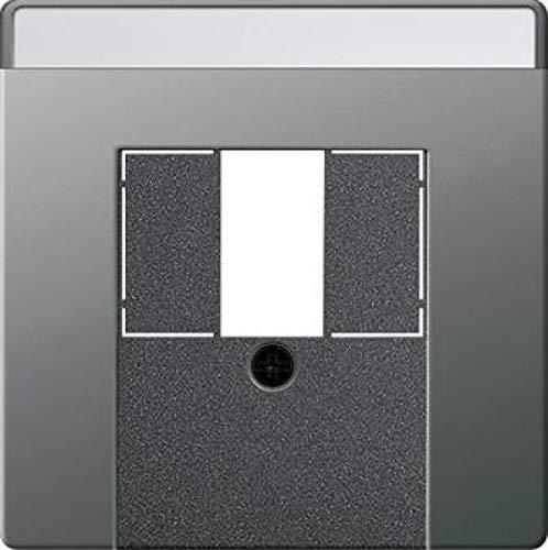 Gira afdekking 0876600 BSF TAE USB EDS systeem 55 inzet/dekking voor communicatietechniek 4010337035800